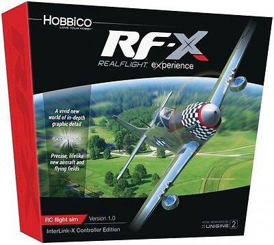 Realflight X Rfx Rx-X W/ Interlink-X Transmitter Rc Airplane Simulator Gpmz4540