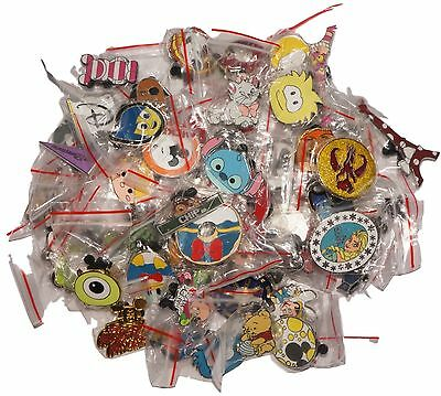 Disney World Trading Pins Pin Lot of 50 No Doubles Fast Free Ship Cast Lanyard