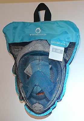AUTHENTIC Tribord Easybreath Snorkeling Mask, ATOLL, size S/M, factory new!