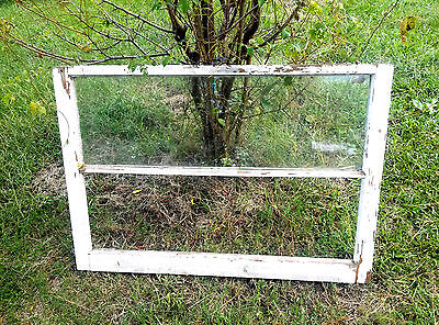 Vintage Sash Wood Antique Window Picture Frame Pinterest Wedding 2 Pane No Glass