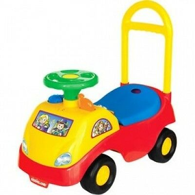 Toddler Ride-on Toy Car with Electronic Sounds and Lights