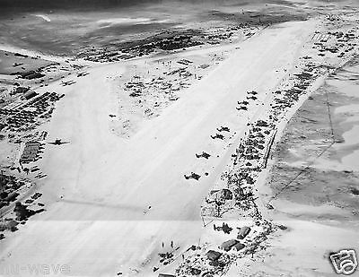 1944-Hawkin Field- Betio Island-Tarawa Atol Various Aircraft on Runways