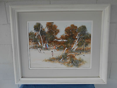 Richard Bogusz Australian Oil On Board Painting Original