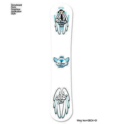 Skin Decal Stickers For Snowboard Deck Tuning Customize Graphicer Wing Frevi