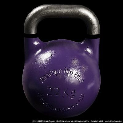 22 kg-49 lb Paradigm Pro ELITE Precision Competition Kettlebell *FREE SHIPPING*