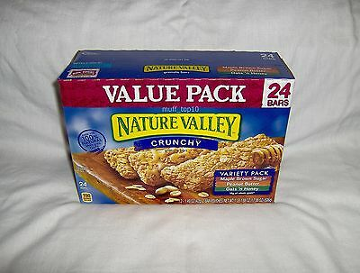 Nature Valley Crunchy Granola 12 Packs 24 Bars - Variety Value Pack