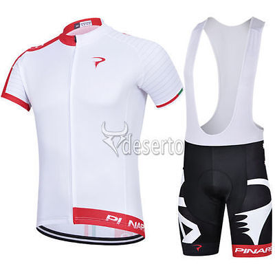 Fashion new Bike Race short sleeve Mens cycling jersey bib shorts set Race Fit
