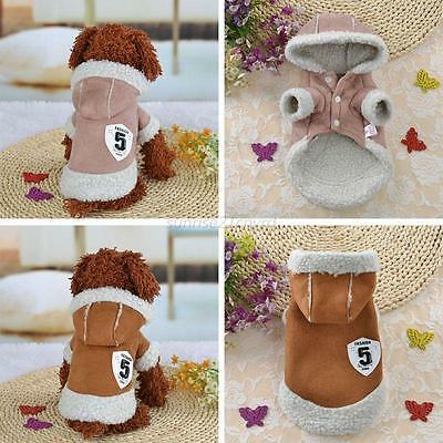Pet Coat Dog Jacket Winter Clothes Puppy Cats Warm Sweater Coat Clothing Apparel