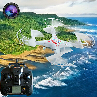 BAYANGTOYS X8 2.0MP HD 4CH 6 Axis Gyro Camera RC Quadcopter with 3D Flip Fly SUK