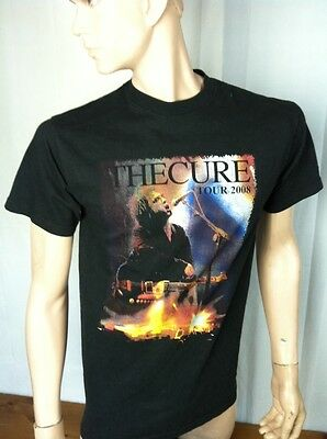 The Cure Concert Shirt 2008 Adult Medium Med M  Rock Robert Smith North American