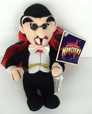 "Universal Studios Monsters Dracula Plush 7"" With Tags"