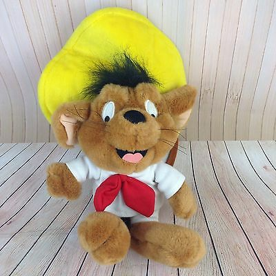 Vintage Speedy Gonzales Plush Doll Toy Warner Brothers Studio Store WB