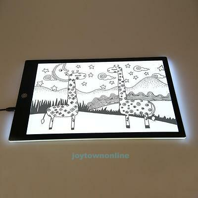 A4 Drawing Tracing Copy Board Tracer LED Box Art Design Tattoo Sketch Thin Pad