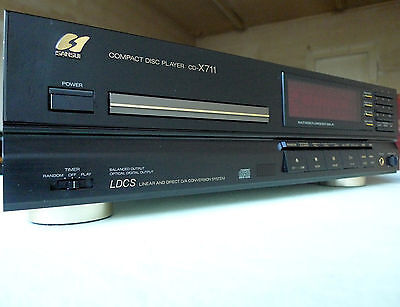 Top : Lecteur Cd Audiophile Vintage Sansui Cd-X711 Tbe + Manual + Remote + Box !