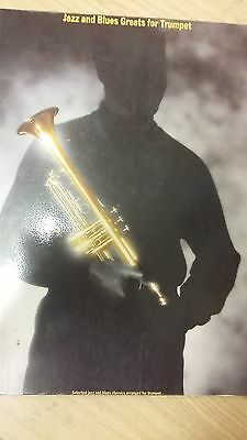 Jazz And Blues Greats For Trumpet: Music Score (J4)