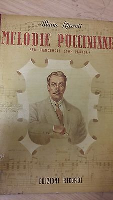 Puccini's Melodies For Piano: Music Score (J4)