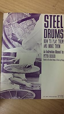 Steel Drums: How To Play Them And Make Them: Music Score (H3)