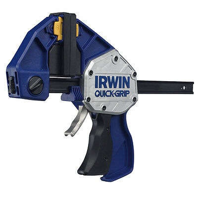 """IRWIN Quick Grip XP 300mm 12"""" Trigger Speed Clamps Xtreme Pressure Clamp"""