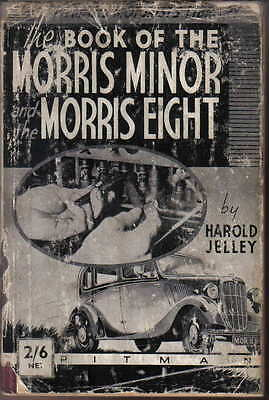 Morris Minor & Morris Eight 8 Models to 1938 Pitman Technical Guide for Owners
