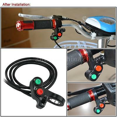 Motorcycle 3in1 Head/Turn Signal Light/Horn ON-OFF Switch Handlebar Button F1R5
