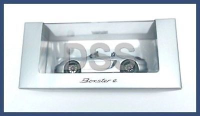 Genuine Porsche Boxster E Silver 981 Minichamps Model Car 1:43 WAP0202040F