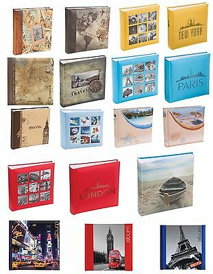 World Map Holiday/Iconic City Cover Design 6 x 4 Holds 200 Photos Slip-in Album