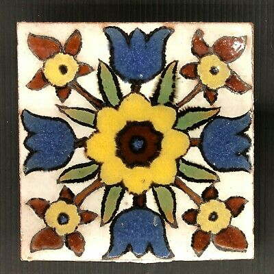 Vintage Malibu Spanish Revival Tile California James Coburn Estate