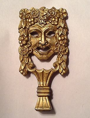 """Large Brass  Bachauas Antique Lamp Finial 5"""" x 2.5"""". In EXCELLENT CONDITION"""
