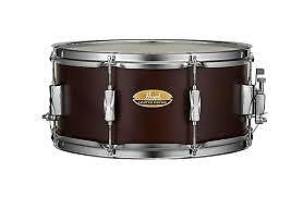 Pearl Limited Edition Maple Snare Drum 14x6.5 Deep Satin Brown