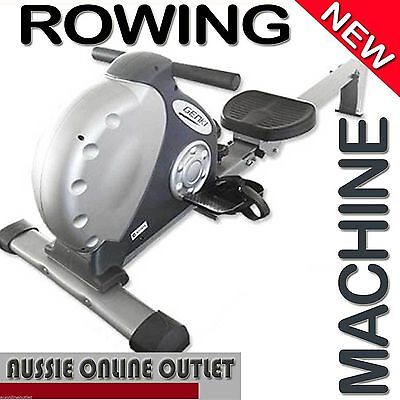 Exercise Rowing Machine Fitness Magnetic Flywheel Gym HIIT Rower Resistance