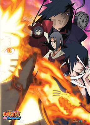 Naruto Shippuden Bad Guys Wall Scroll Poster Anime Manga NEW