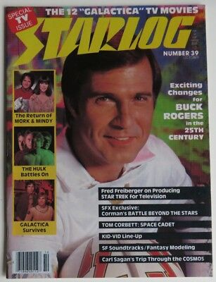 1980 Starlog Buck Rogers Issue #39              (Inv12697)
