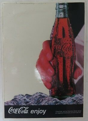 VINTAGE COCA-COLA COKE 5 x 7 INCH WINDOW CLING                  (INV12668)