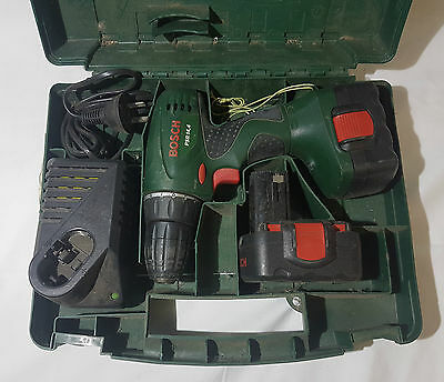 Bosch Cordless Drill, Extra Battery, Charger & Hard Case - Psr 14,4 Guc