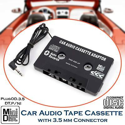 For iPod MP3 iPhone Converter Adapter In Car Audio Tape Cassette To Jack AUX UK