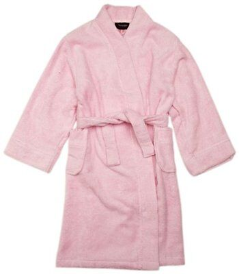 Rosa (Pink) (TG. 10 anni) Sovereign Sleepwear - Accappatoio a scialle, manica lu