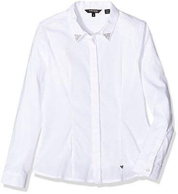 A009 OPTIC WHITE (TG. X-Large) GUESS, LS SHIRT - J64H64EK600 - Camicia da bambin