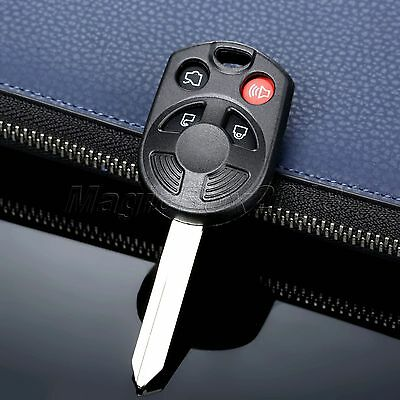 Replacement 4 BTN Keyless Entry Remote Fob Control Clicker Shell Case For Ford