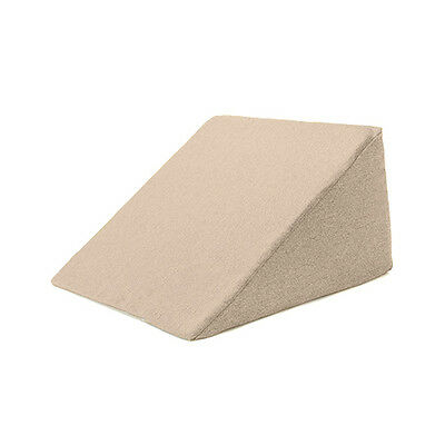 Latte Bed Wedge Cushion Back Rest Upright Support Orthopaedic Pillow Acid Reflux