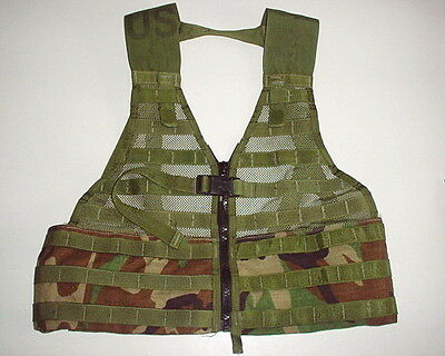 US ARMY original issue FLC LBV MOLE vest WOODLAND used nice condition complete