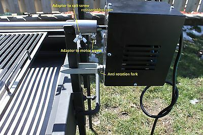 Whole lamb / pig hog Rotisserie roaster bbq motor only.Heavy duty 200lbs 6 rpm