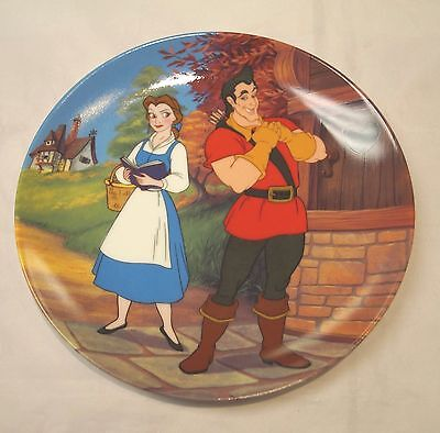 """Knowles Disney, Beauty & the Beast, """"A Mismatch"""" 8th Plate in Collection"""