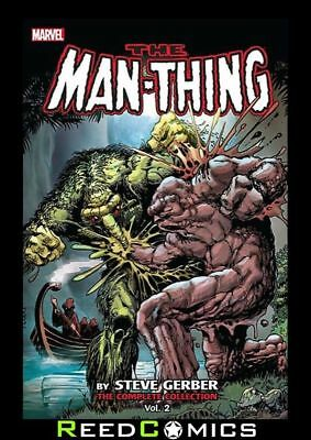 MAN THING BY STEVE GERBER COMPLETE COLLECTION VOLUME 2 GRAPHIC NOVEL Paperback