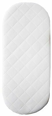 Baby Moses Basket Bassinet Mattress 67 x 30 cm Standard Quilted Bedding Form