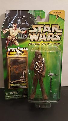 Star Wars Power of the Jedi Force File Chewbacca Millennium Falcon Mechanic