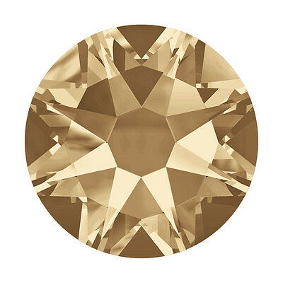 Swarovski Hot Fix Crystals -Golden Shadow Special Effects