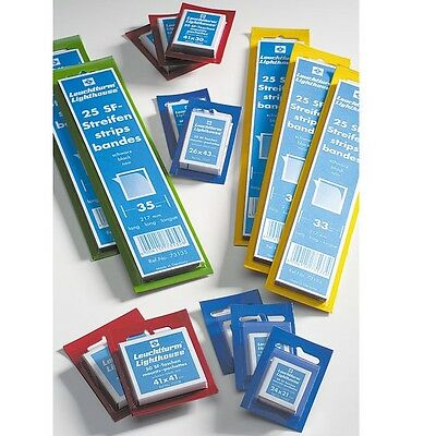 Lighthouse Stamp Mounts 26x40mm Clear Pack of 50