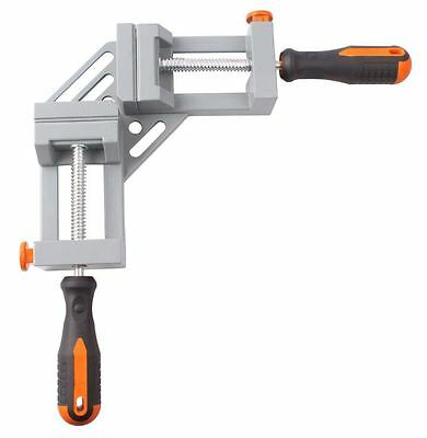 402305 Quick Release Corner Right Angle Clamp Vice Welding Woodworking Frame