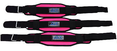 Ladies Womens Weight Lifting Power Bodybuilding Back Support Gym Belt