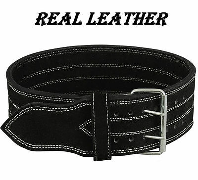 Heavy Duty Bodybuilding/Weight lifting Genuine Leather Gym Power Belt
